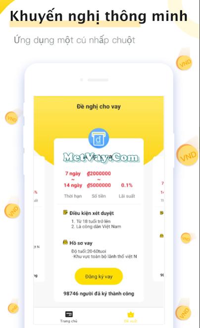 Tải app Credit Ví