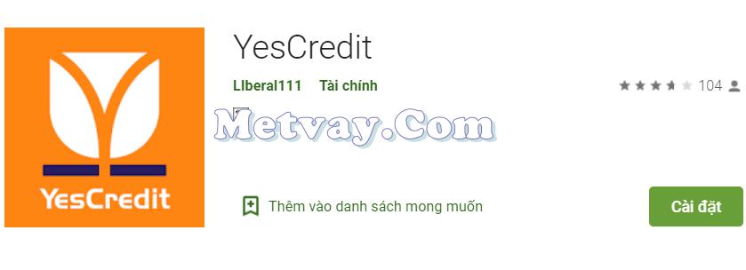Tải ứng dụng YesCredit
