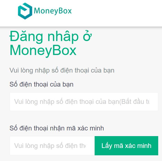 Đăng ký money box