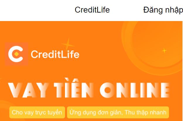 Vay tiền nhanh CreditLife